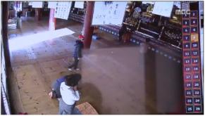 [뉴스보도자료] 해산사 곳곳에서 낙서 발견... 타종교인이 침입해 낙서