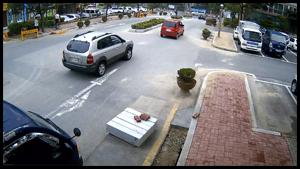 아파트 단지내 도로 주간영상